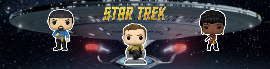 Funko Pop Star Trek Pop Vinyls Juillet 2021