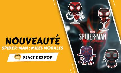 Marvel's Spider-Man: Miles Morales Pop Vinyls
