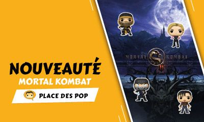 Funko Pop Mortal Kombat Pop Vinyls septembre 2021