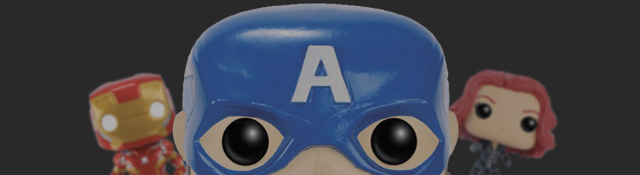 Achat Figurine Funko Pop Captain America : Civil War [Marvel] 41 Captain America soldat d'hiver pas cher