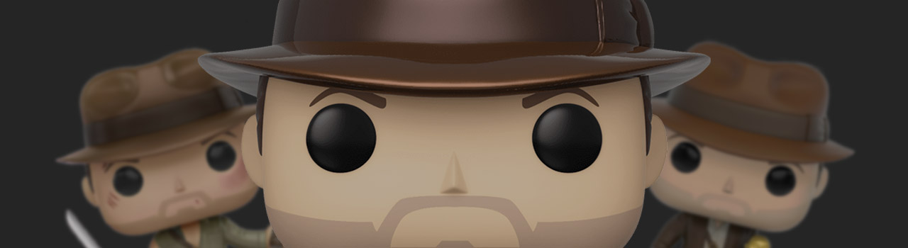 Achat Figurine Funko Pop Indiana Jones 885 Indiana Jones - Metallique Or & 25 cm pas cher