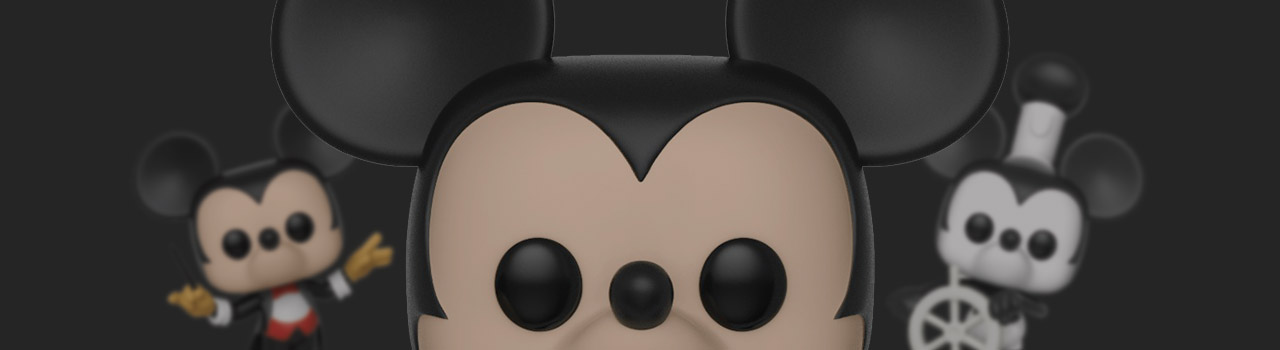 Achat Figurine Funko Pop Mickey Mouse - 90 Ans [Disney] 457 Mickey Mouse - 25 cm pas cher