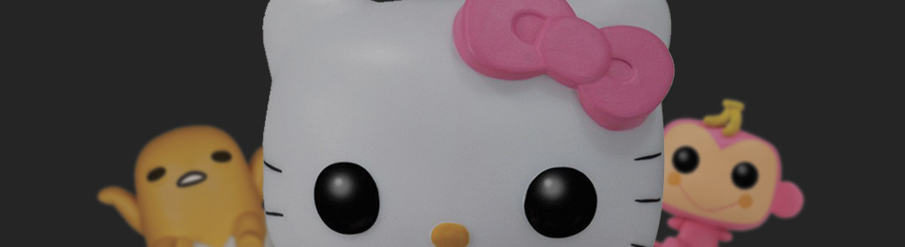 Achat Figurine Funko Pop Sanrio 31 Hello Kitty - 8 Bit pas cher