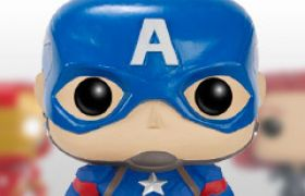 Figurines Funko Pop Captain America : Civil War [Marvel]