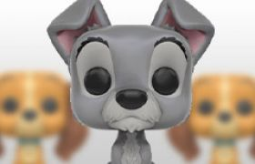 Figurines Funko Pop La Belle et le Clochard [Disney]
