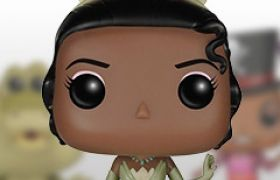 Figurines Funko Pop La Princesse et la Grenouille [Disney]