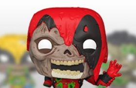 Figurines Funko Pop Marvel Zombies