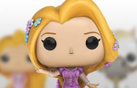 Figurines Funko Pop Raiponce [Disney]