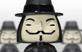 Figurines Funko Pop V pour Vendetta