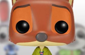 Figurines Funko Pop Zootopie [Dinsey]