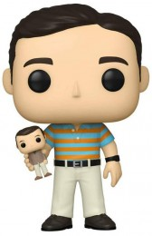 Figurine Funko Pop 40 ans, toujours puceau # Andy Stitzer