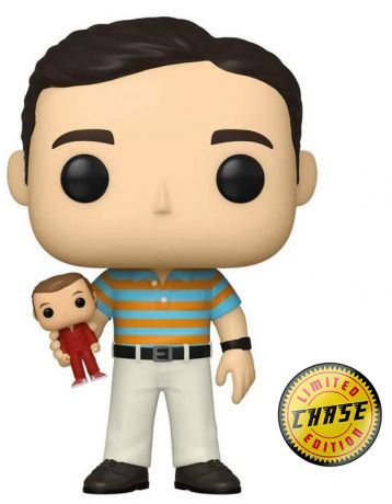 Figurine Funko Pop 40 ans, toujours puceau #00 Andy Stitzer [Chase]