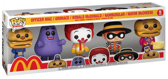 Figurine Funko Pop McDonald's # McDonalds - Pack 5