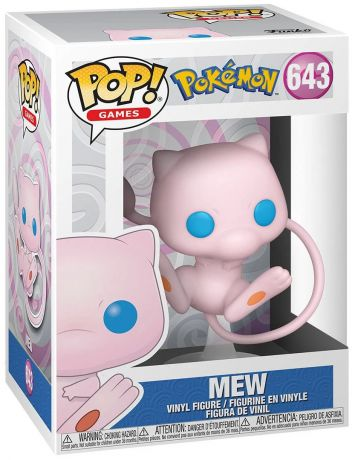 Figurine Funko Pop Pokémon #643 Mew
