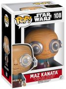Figurine Funko Pop Star Wars 7 : Le Réveil de la Force #108 Maz Kanata