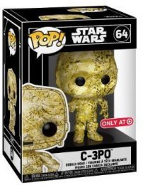 Figurine Funko Pop Star Wars : Futura #64 C-3PO