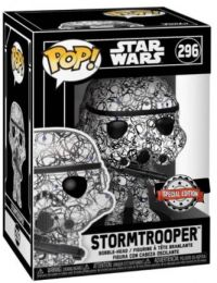 Figurine Funko Pop Star Wars : Futura #296 Stormtrooper