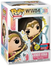 Figurine Funko Pop Wonder Woman 1984 - WW84 #361 Wonder Woman - Glow In The Dark