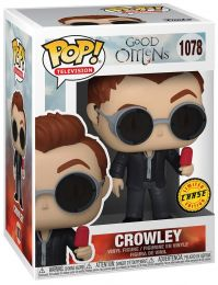 Figurine Funko Pop Good Omens #1078 Rampa avec glace [Chase]
