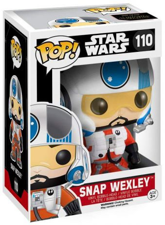 Figurine Funko Pop Star Wars 7 : Le Réveil de la Force #110 Snap Wexley