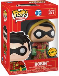 Figurine Funko Pop DC Comics #377 Robin (Imperial Palace) [Chase]