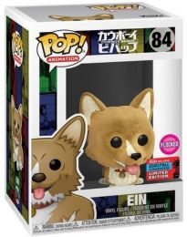 Figurine Funko Pop Cowboy Bebop #84 Ein - Flocked