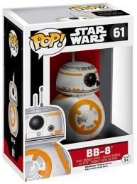 Figurine Funko Pop Star Wars 7 : Le Réveil de la Force #61 BB-8