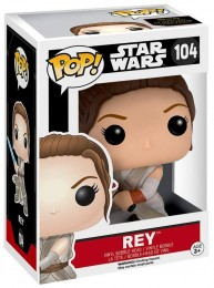 Figurine Funko Pop Star Wars 7 : Le Réveil de la Force #104 Rey