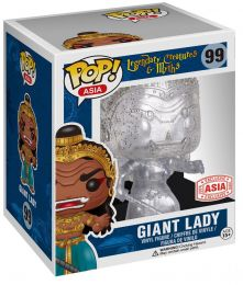 Figurine Funko Pop Créatures légendaires et mythes #99 Giant Lady - Transparent