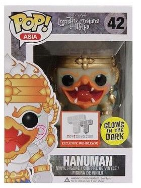 Figurine Funko Pop Créatures légendaires et mythes #42 Hanuman - Glow in the Dark