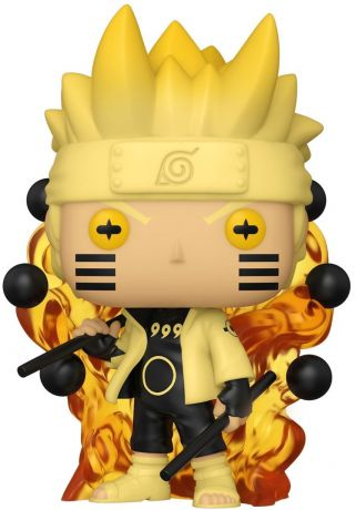 Figurine Funko Pop Naruto #00 Naruto Chakra de Kyûbi - Glow In The Dark
