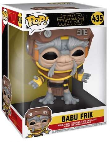 Figurine Funko Pop Star Wars 9 : L'Ascension de Skywalker #435 Babu Frik - 25 cm