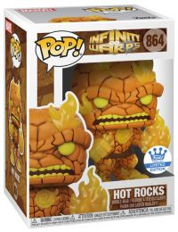 Figurine Funko Pop Infinity Warps #864 Hot Rocks
