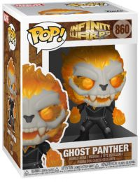 Figurine Funko Pop Infinity Warps #860 Ghost Panther