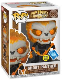 Figurine Funko Pop Infinity Warps #863 Ghost Panther - Glow In the Dark