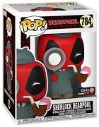 Figurine Pop Deadpool [Marvel] #784 Sherlock Deadpool
