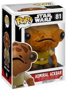 Figurine Funko Pop Star Wars 7 : Le Réveil de la Force #81 Amiral Ackbar