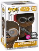 Figurine Funko Pop Solo : A Star Wars Story #239 Chewbacca - Flocké