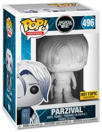 Figurine Funko Pop Ready Player One #496 Parzival - Cristal