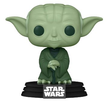 Figurine Funko Pop Star Wars : The Clone Wars #124 Yoda Artist Series