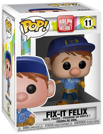 Figurine Funko Pop Ralph 2.0 [Disney] #11 Félix Fixe Jr.