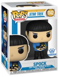 Figurine Funko Pop Star Trek #1142 Spock avec chat