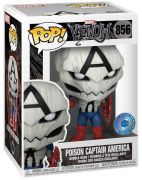 Figurine Pop Venom [Marvel] #856 Poison Captain America