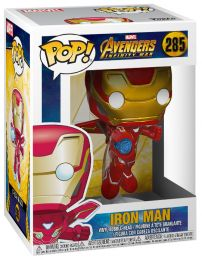 Figurine Funko Pop Avengers : Infinity War [Marvel] #285 Iron Man