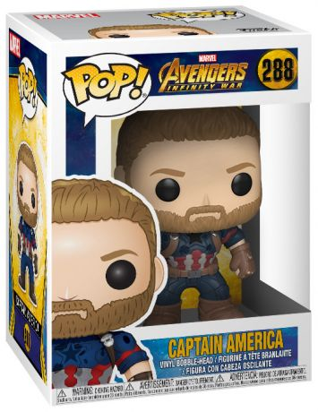Figurine Funko Pop Avengers : Infinity War [Marvel] #288 Captain America