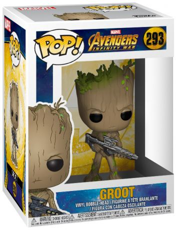Figurine Funko Pop Avengers : Infinity War [Marvel] #293 Groot