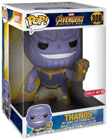 Figurine Funko Pop Avengers : Infinity War [Marvel] #308 Thanos - 25 cm