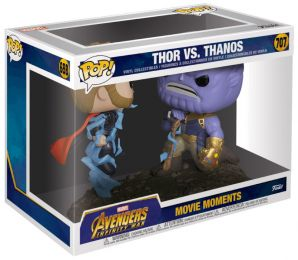 Figurine Funko Pop Avengers : Infinity War [Marvel] #707 Thor contre Thanos
