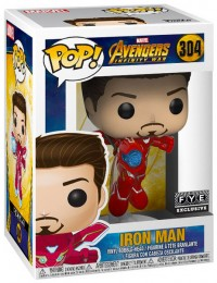 Figurine Funko Pop Avengers : Infinity War [Marvel] #304 Iron Man - Sans Masque