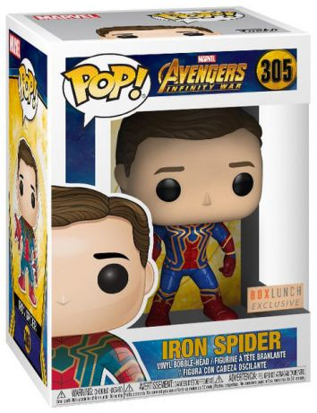 Figurine Funko Pop Avengers : Infinity War [Marvel] #305 Iron Spider - Sans Masque